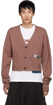 Keenkee Pink Cropped Cloud Cardigan