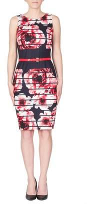 Joseph Ribkoff Modern Floral Dress
