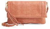 Sole Society Marlena Faux Leather Clutch.Crossbody Bag