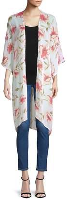 Bindya Lulla Collection by Women's Floral-Print Kimono