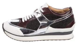 Maison Margiela Colorblock Low-Top Sneakers