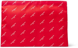 Balenciaga Explorer Printed Shell Pouch