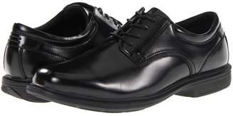 Nunn Bush Baker Street Plain Toe Oxford with KORE Slip Resistant Walking Comfort Technology Men's Plain Toe Shoes