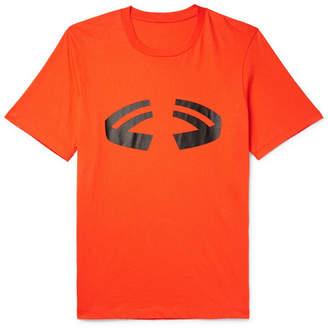Helmut Lang Halloween Logo-Print Cotton-Jersey T-Shirt