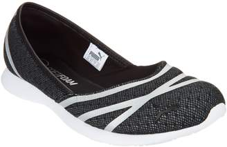 Puma Mesh Slip-On Ballet Sneakers - Vega Ballet Mesh