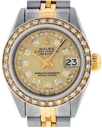 Rolex Datejust 36mm Gold Steel Watches