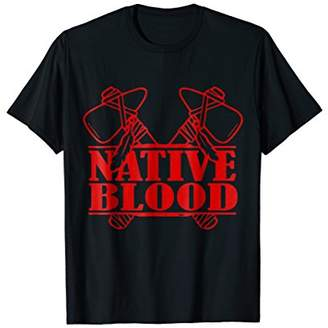 Native Blood Native American shirt