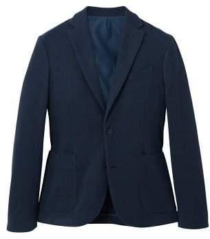 Mango man MANGO MAN Slim-fit unstructured cotton blazer