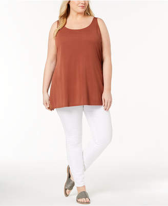 Eileen Fisher Plus Size Silk Jersey Tunic