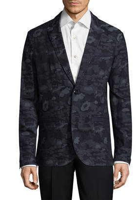 Armani Exchange Camo Print Sportcoat