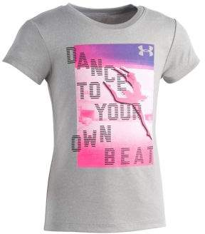 Under Armour Little Girl's Dance to Your Own Beat Graphic Tee