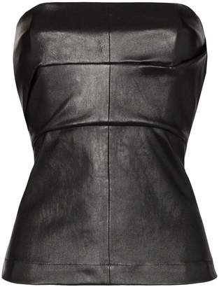 9df1a87781b Rick Owens leather corset bustier