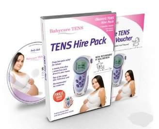 Babycare TENS Elle Hire Pack DVD