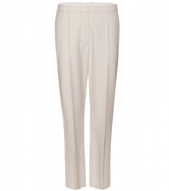 Chloé WOOL HIGH-WAISTED TROUSERS