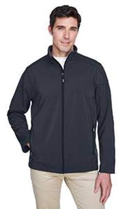Ash City - Core 365 Men's Cruise Two-Layer Fleece Bonded Soft Shell Jacket - CARBON 456 - S 88184