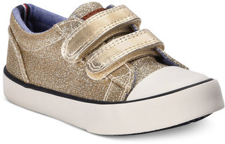 Tommy Hilfiger Cormac Core Sneakers, Toddler & Little Girls (4.5-3) $29 thestylecure.com