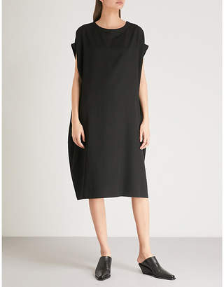 Y's Ys Flared wool knee-length dress