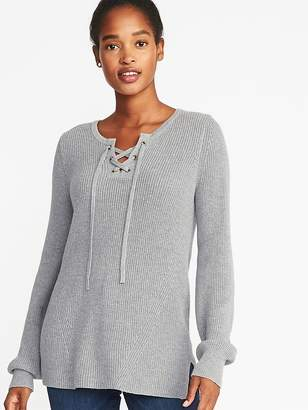 Old Navy Lace-Up Sweater for Women