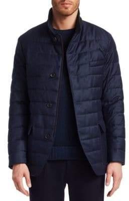 Loro Piana Roadster Cashmere Puffer Jacket