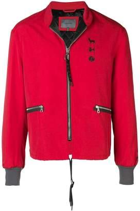 Lanvin zipped bomber jacket