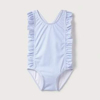 The White Company Stripe Swimming Costume (0-24mths)