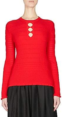 Kenzo Women's Knit Keyhole Pullover