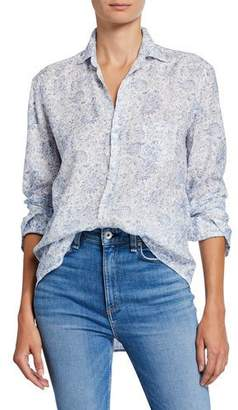 Frank And Eileen Eileen Floral Long-Sleeve Button-Down Shirt