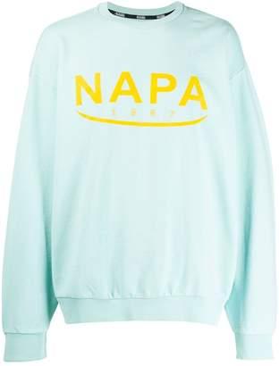 Napapijri printed logo sweatshirt