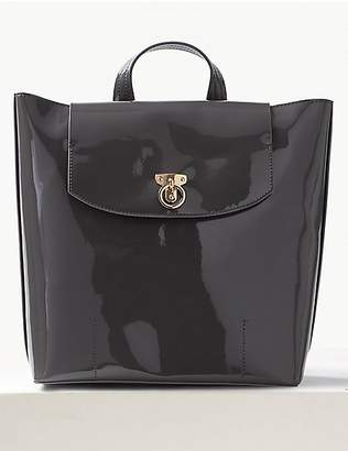 M&S Collection Faux Leather Backpack Bag
