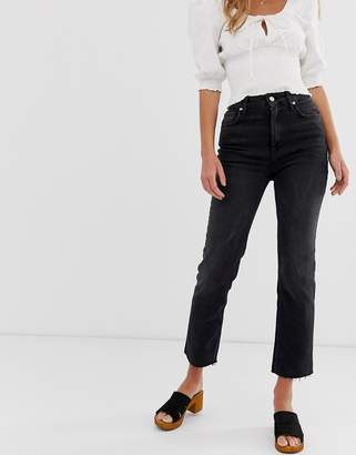Free People high rise kick flare jeans