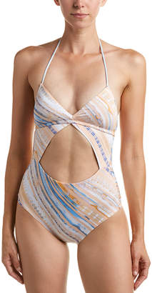 Dolce Vita Cut-Out Front One-Piece