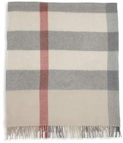 Burberry Baby's Merino Wool Check Blanket