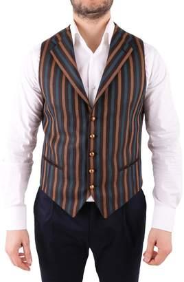 Tagliatore Virgin Wool Blend Vest
