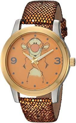 Disney Women's Pooh Tigger' Quartz Metal Casual Watch
