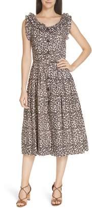 Sea Lottie Leopard Print Dress