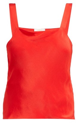 d5a4e1b2edbef4 Worme - The Camisole Silk Top - Womens - Red
