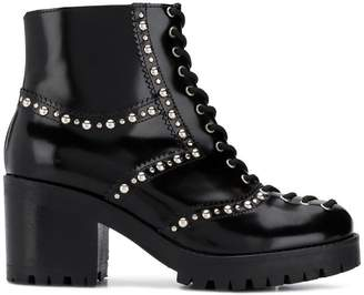 McQ lace-up chunky boots