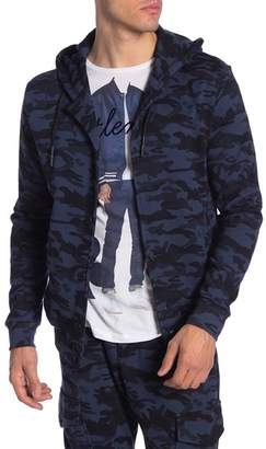 Antony Morato Hooded Camo Printed Jacket