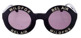 Wildfox Couture Bel Air Round Sunglasses