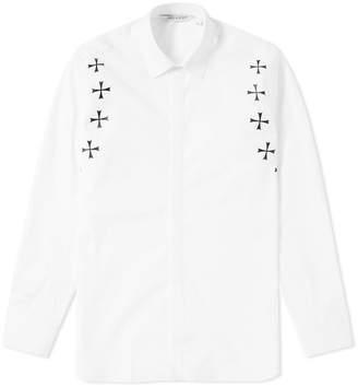 Neil Barrett Military Star Shoulder Shirt