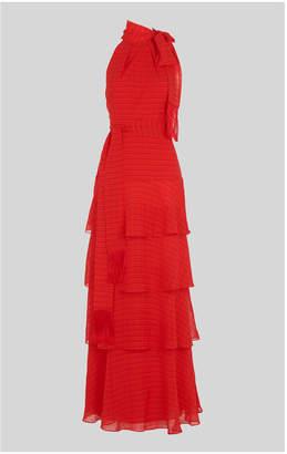 Whistles Marigold Tiered Maxi Dress
