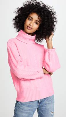 ENGLISH FACTORY Diagonal Twist Sweater