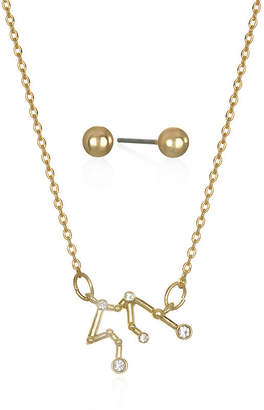 MIXIT Mixit Aquarius Constellation Womens Pendant Necklace