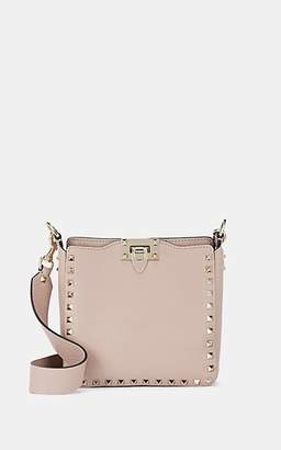 Valentino Garavani Women's Rockstud Mini Leather Hobo Bag - Pink