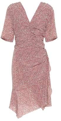 Isabel Marant Arodie stretch silk dress