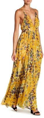 Enchanted Garden Meghan LA Geometric Seam Dress