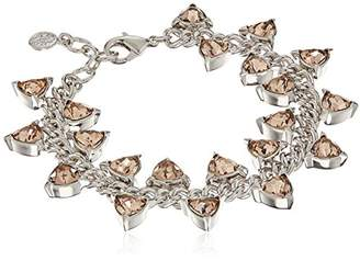 Nicole Miller Trilliant Station Chain Bracelet