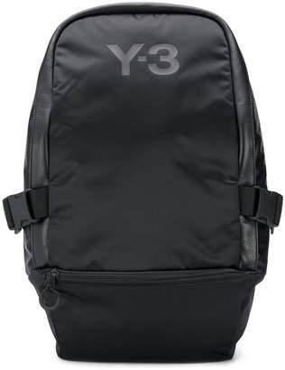 Y-3 logo printed backpack
