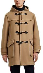 Rag & Bone Men's Commodore Wool Hooded Duffel Coat - Beige, Tan