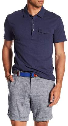 Original Penguin Short Sleeve Denim Effect Jack Polo
